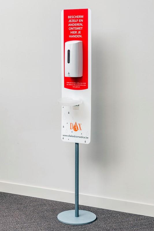 DAX Station d'hygiène des mains